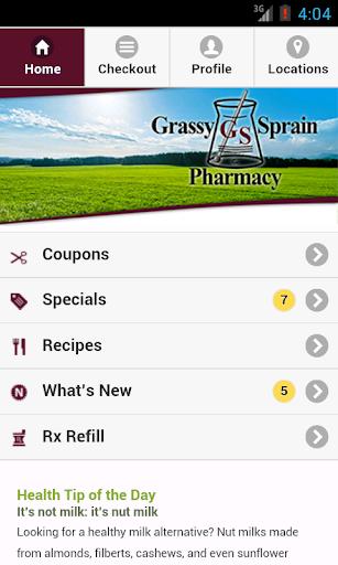 Grassy Sprain Pharmacy
