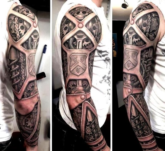 luva_cheia_de_steampunk_arrancou_o_braço_de_tatuagem