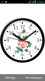 Skin Analog Clock-7 - náhled