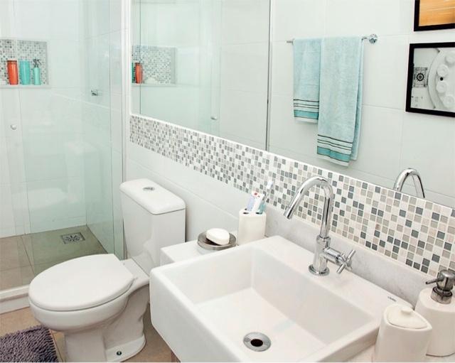 Arquitetando meus sonhos Pastilhas no Banheiro  Se jogue nos detalhes! -> Banheiros Com Pastilhas Em Cima Do Vaso
