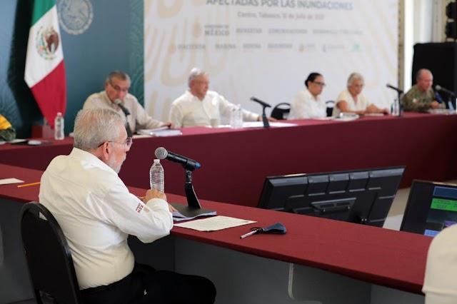CONCLUIDA RECONSTRUCCIÓN DE RED FEDERAL CARRETERA EN SURESTE MEXICANO TRAS LLUVIAS 2020: SCT
