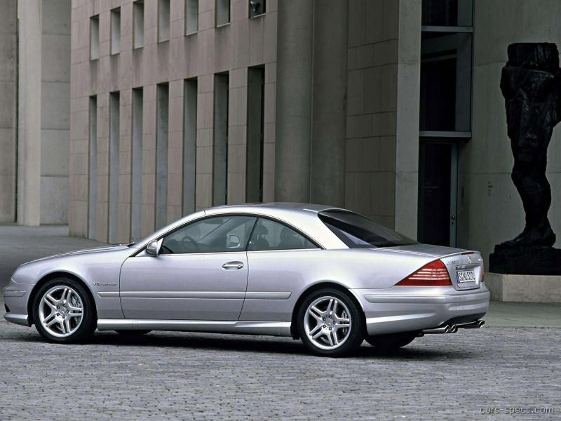 2002 mercedes benz cl class cl55 amg specifications pictures prices. Black Bedroom Furniture Sets. Home Design Ideas