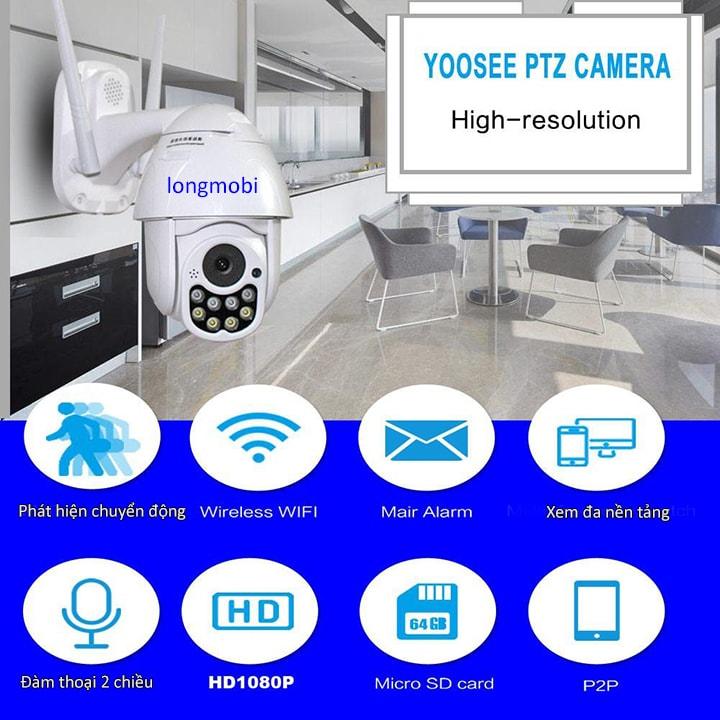camera yoosee wifi ngoai troi