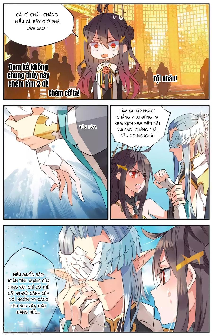 Nữ Nhân Dũng Cảm chap 62 - Trang 11