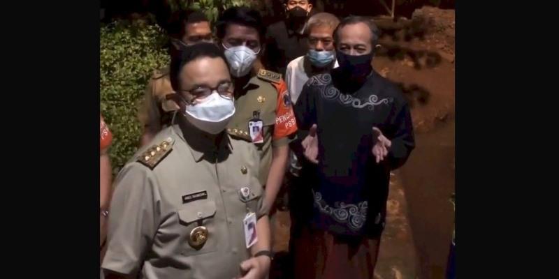 Warga Cipinang Melayu Senang, Berkat Anies Setelah 25 Tahun Tidak Kebanjiran Lagi