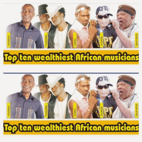 Top 15 Most Celebrated African Musicians, See Who Topped ...  |African Musicians List