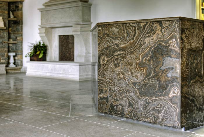 ... Indiana Fireplace And Eramosa Countertop ...