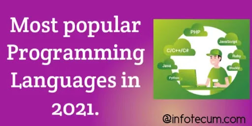 Top 5 Most Used Programming Languages 2021