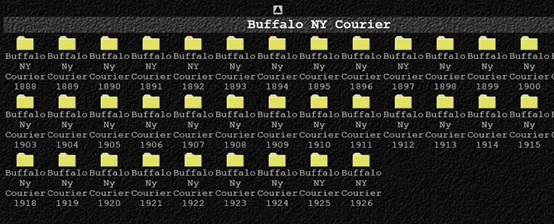 Buffalo courier