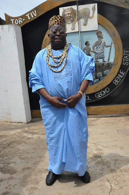 Photos From The Burial Of Paramount Ruler Of The Tiv Nation, Dr. Alfred Akawe Torkula,