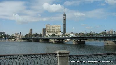 Мост через Нил в центре Каира by TripBY.info