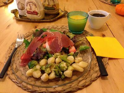 15日の朝食