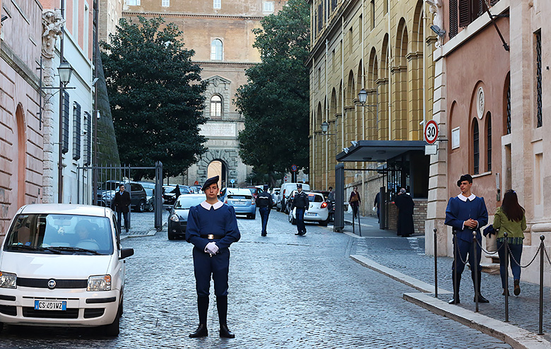 Gardes du Vatican.