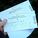 tickets to the prisonergate in Den Haag, Zuid Holland, Netherlands