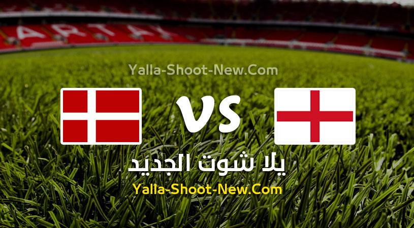 مباراة إنجلترا والدنمارك