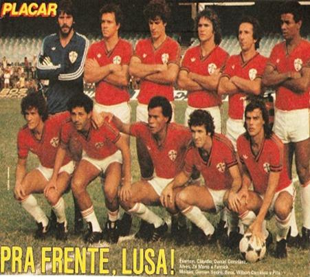 11 - Revista Placar - Editora Abril - Poster Portuguesa de Desportos 1981