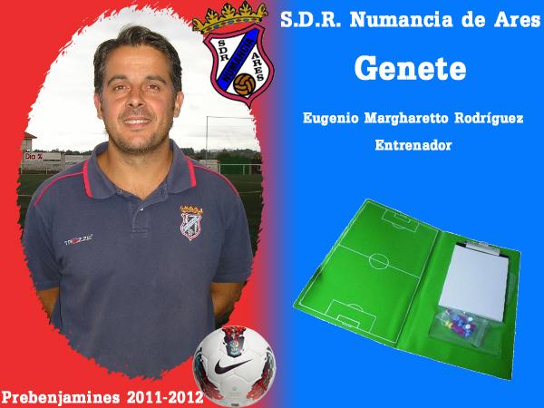 ADR Numancia de Ares. Prebenxamíns 2011-2012. GENETE.