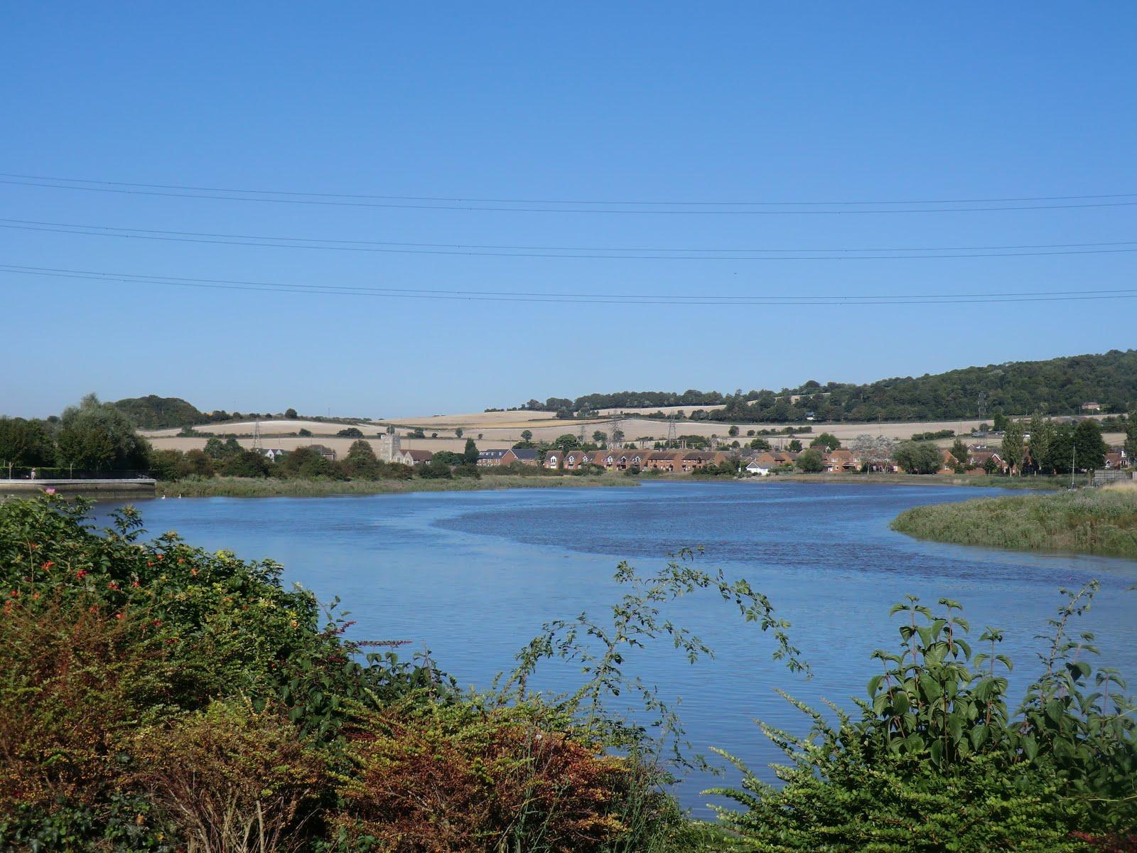CIMG3958 River Medway at Halling