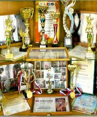 Награды победителей конкурсов