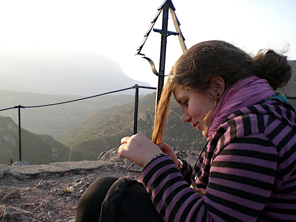 Sortida Sant Salvador de les espasses 2006 - CIMG8303.JPG