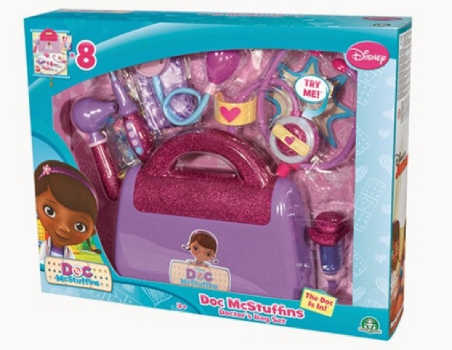 Doc Mcstuffins Doctor's bag set #doctober
