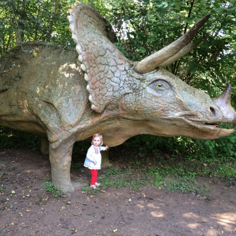 Dinosaur adventure park - things to do in the summer holidays