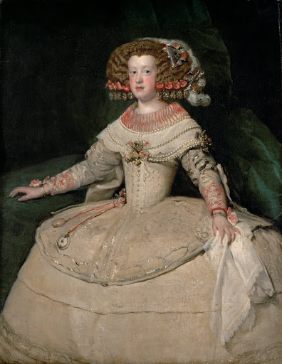 Velazquez: Infanta Maria Theresa. From The Museum of Fine Arts Houston Cloaked in Magnificent Opulence