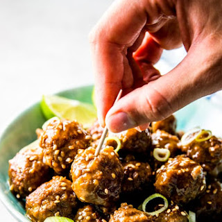 Honey Garlic Crockpot Meatballs Recipe
