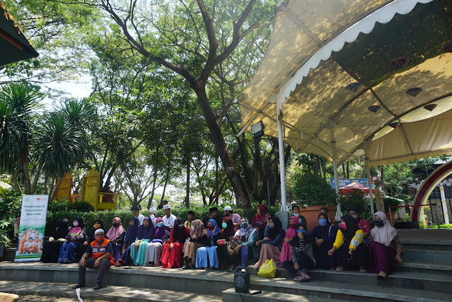 Hilangkan Penat, Anak Juara Rumah Zakat Bekasi LAZIS Al-Furqon, Kunjungi Southlake MGC Babelan