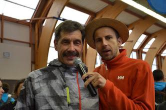 Photo: Philippe Propage, entraîneur de l'équipe de France de Trail