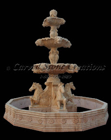 carved stone, Estate, Fountain, Gallery, Natural Stone, Pool, Pool Surrounds, Surround, Tiered
