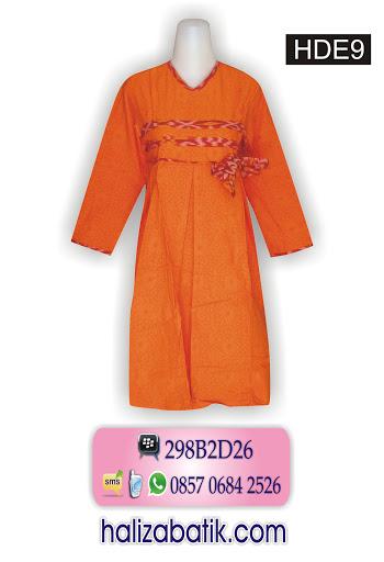 Baju Batik Pekalongan, Desain Baju Batik, Busana Batik, HDE9