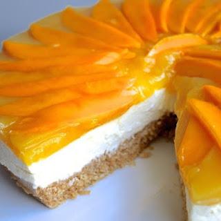 No-Bake Mango Cheese Cake.