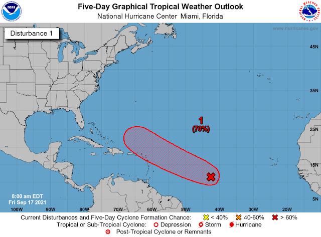 Onamet vigila fenómeno que podría ser ciclón tropical en las próximas 48 horas