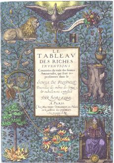 The Table Of Rich Inventions, Emblems Related To Alchemy