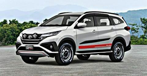 Kumpulan Gambar All New Toyota Rush
