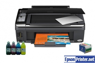 How to reset Epson SX210 printer