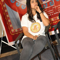 Anushka at Size Zero Press Meet