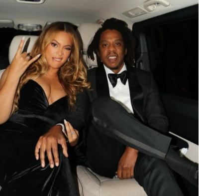 Beyonce and Jay-Z make surprise appearance at BFI's London Film Festival celebrating the premiere of Idris Elba's The Harder They Fall (photos)