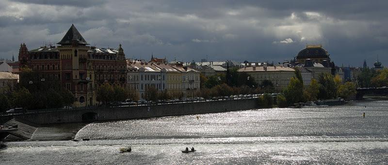 Storm over Vltava