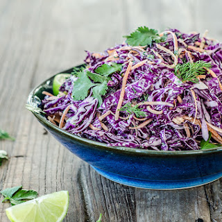 Spicy Red Cabbage Coleslaw Recipes