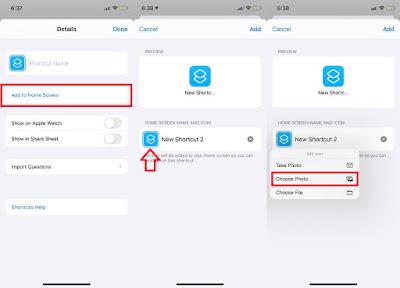 تغيير شكل الايقونات للايفون على iOS 14