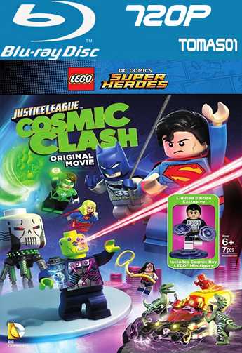 Liga de la Justicia Lego: Batalla Cósmica (2016) (BRRip) BDRip m720p