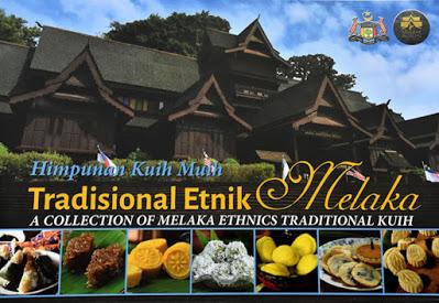 Buku Himpunan Kuih Muih Tradisional Etnik Melaka