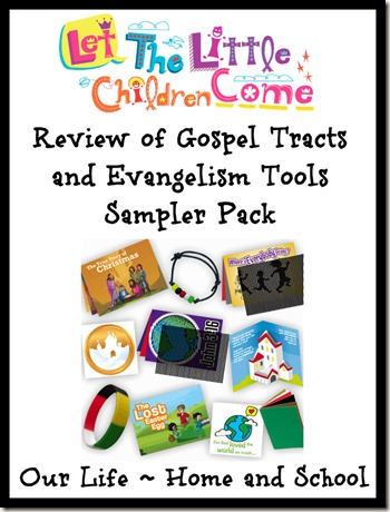 Gospel Tract and Evangelism Tools Sampler Pack Review
