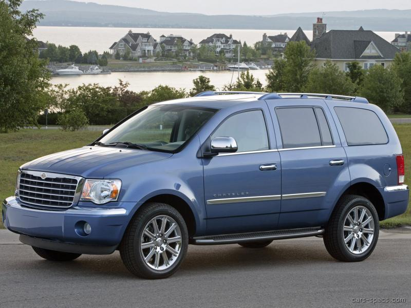 2008 chrysler aspen suv specifications pictures prices. Black Bedroom Furniture Sets. Home Design Ideas