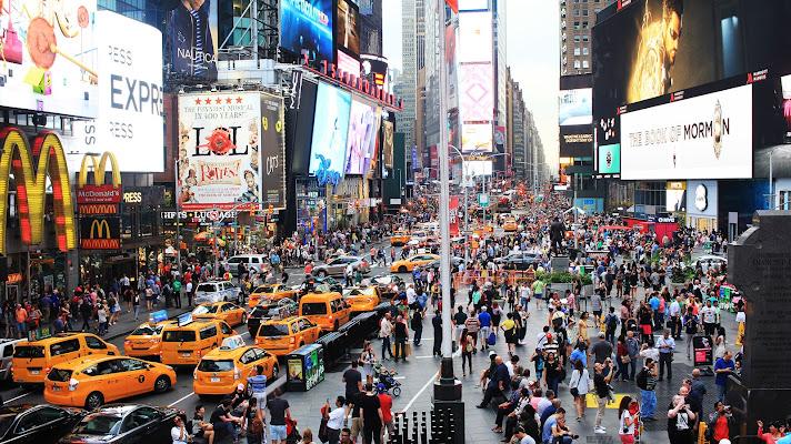 Times Square di Manetta