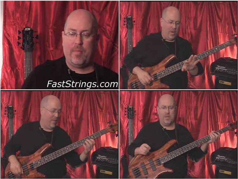 Todd Johnson - Electric Bass Technique Builders