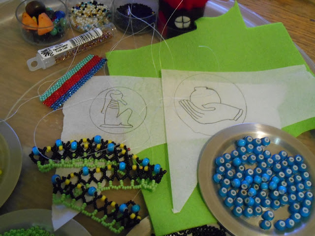 Three Beading Projects in Progress