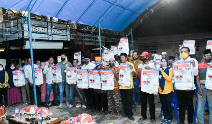 Kampanye di Marioriawa, AKAR Ajak Masyarakat Bersatu Untuk Membangun Soppeng Makin Baik